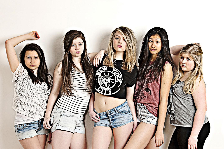 Teen girls hit record low